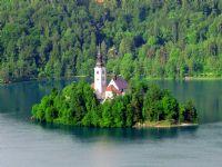 Slovenya Bled Gölü