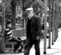 Genç Oturur, İhtiyar Yürür
