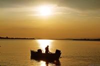 Gölyazıda Gün Batımı
