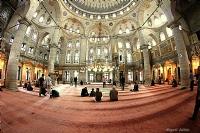Balığın Gözüyle Eyüp Sultan Camii .