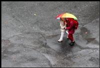 Yağan Yağmurda..