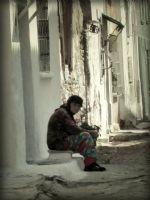 Sokaktaki Kadın