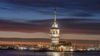 Akşamdan kalma bir kız kulesi - Fotoğraf: Mehmet Diken