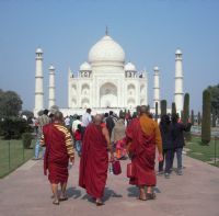 Taj Mahal'e Gider İken...