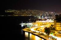 Asansörden İzmir Manzarası