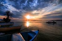 Gölyazıda Gün Batımı..
