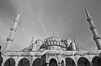 Yeni Camii Siyah Beyaz Hdr Denemesi
