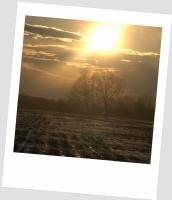 Kışın Gün Batımı