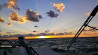 Fırtına Öncesi Günbatımı