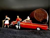 "Miniciks Hayatlar 1959 Chevy Elcamino"""