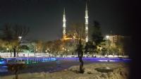 Karlı Konya Akşamından Kültür Park